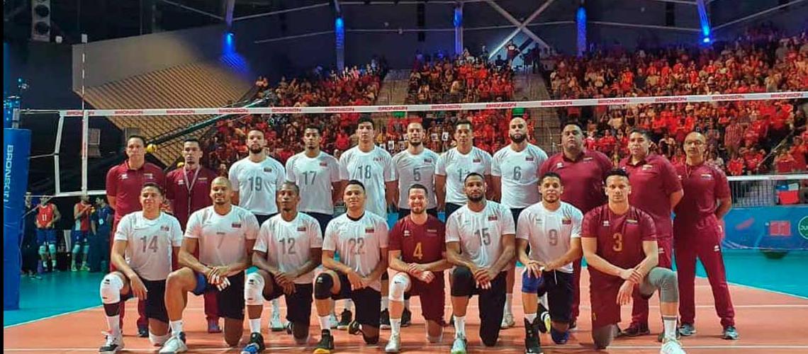 La selección venezolana de voleibol masculina venció a Perú :: La Prensa de  Lara