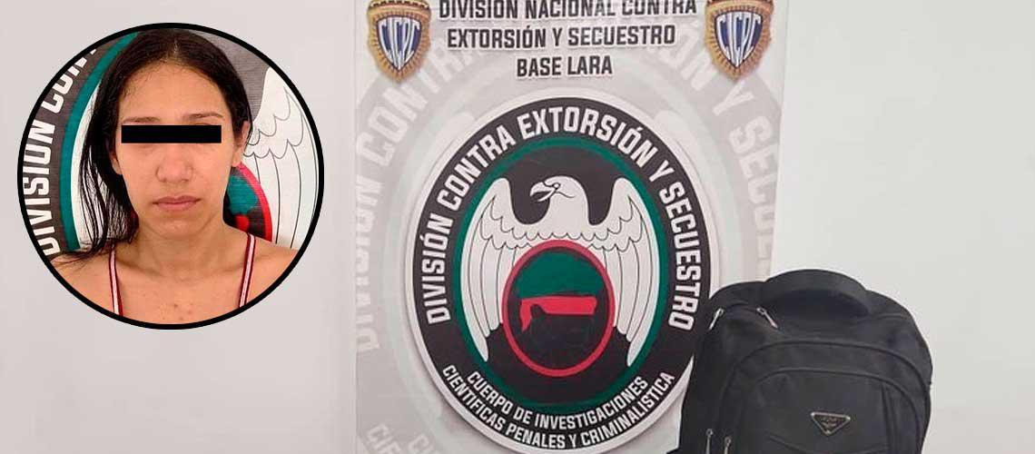 """Detenida en Lara una mujer que pertenece a la banda de """"El Coqui"""""""