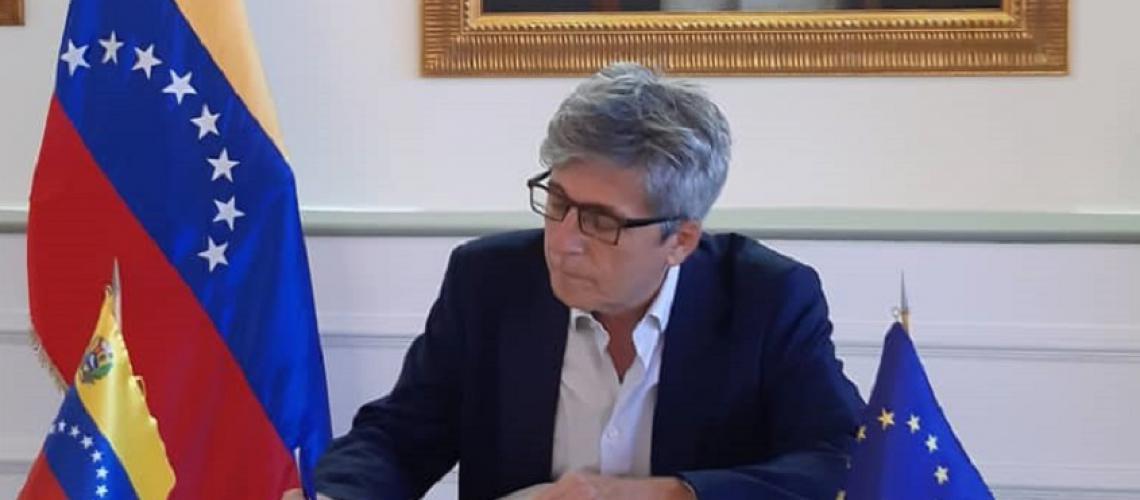 Llega a Venezuela nuevo jefe de misión de la delegación de la UE